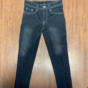Dark Blue/Blackish Justice Girls Jeans